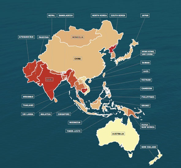 Mapping modern slavery