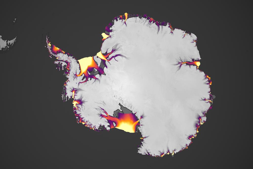 global ice movement