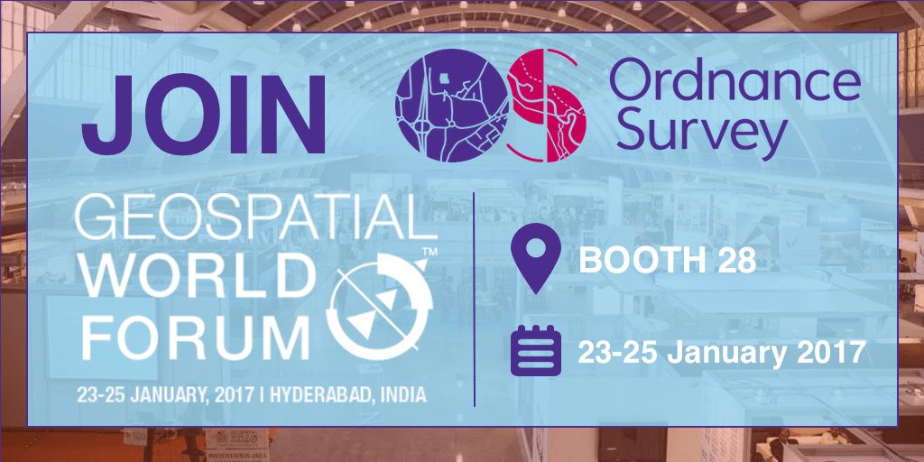 Ordnance Survey UK at Geospatial World Forum 2017