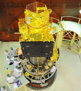 ISRO to launch remote sensing satellite RESOURCESAT-2A on Wednesday from Sriharikota space station.