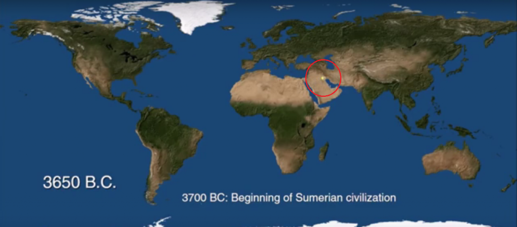 Mapping the history of urbanization