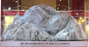 re-measuring mount everest