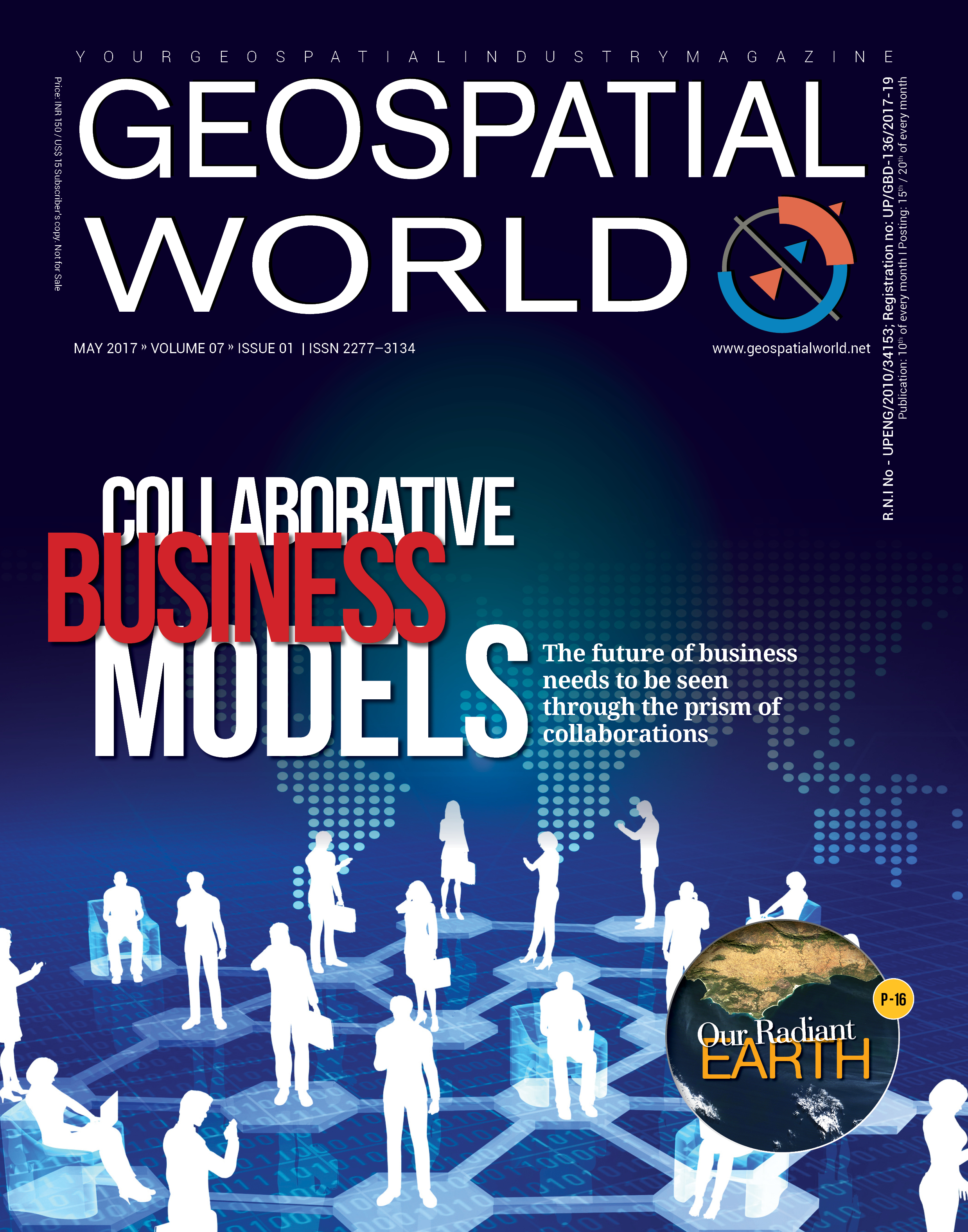 Geospatial World Magazine May 2017: Collabrative business models