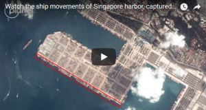 watch the ship movement of singpore harbor