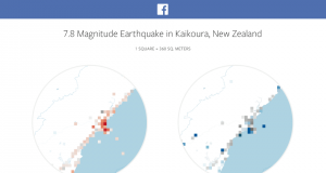 Facebook Disaster Maps location data