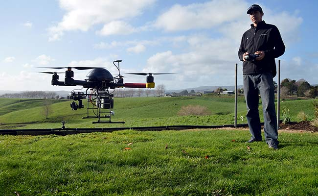 SkyPan International is urging new drone owners to register the UAV online with the FAA