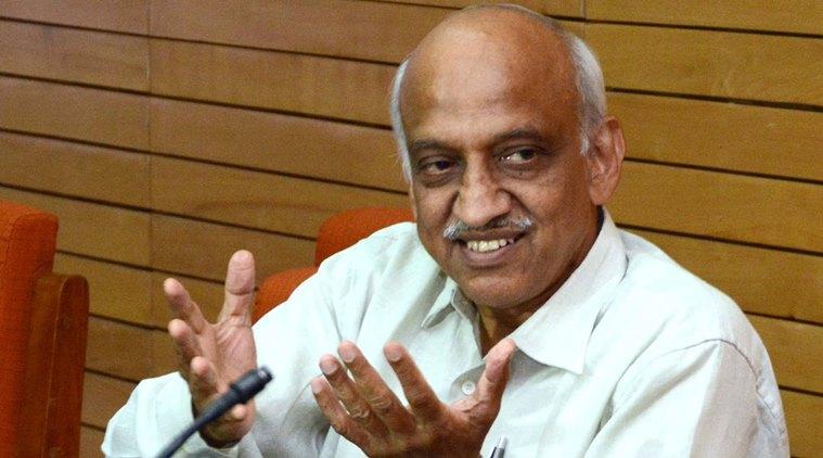 ISRO chief A.S. Kiran Kumar