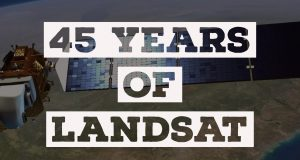 45 years of Landsat completed in 2017
