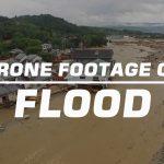 drone footage shows devastation
