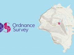 Ordnance Survey features Foula