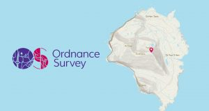 Ordnance Survey features Foula