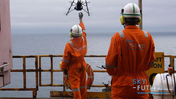 Drones for oil and gas industry