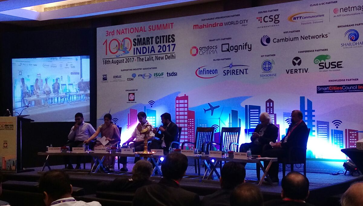 National Summit on 100 Smart Cities India 2017