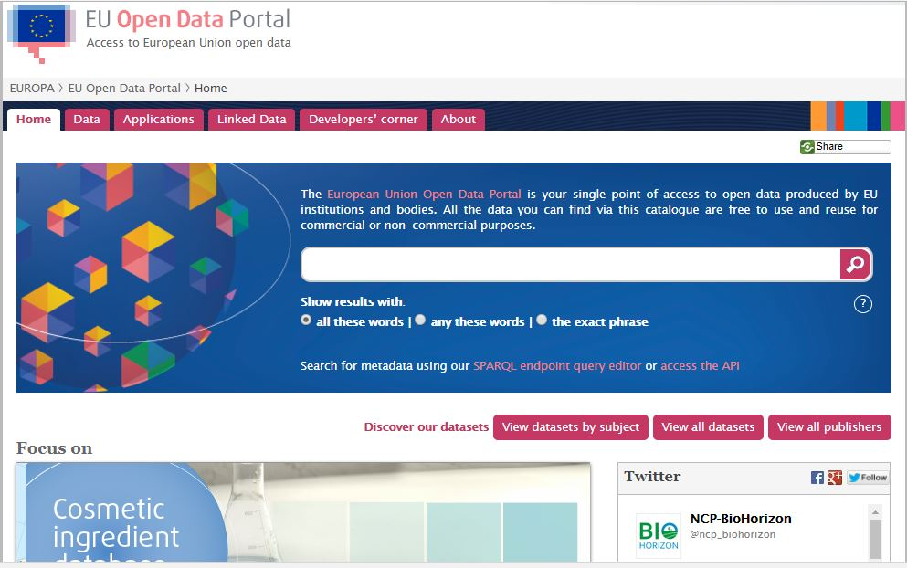EU revamps Open Data portal