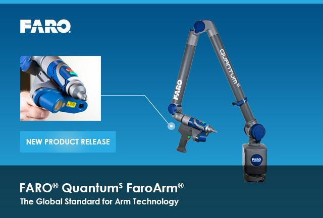 FARO QuantumS FaroArm introduced