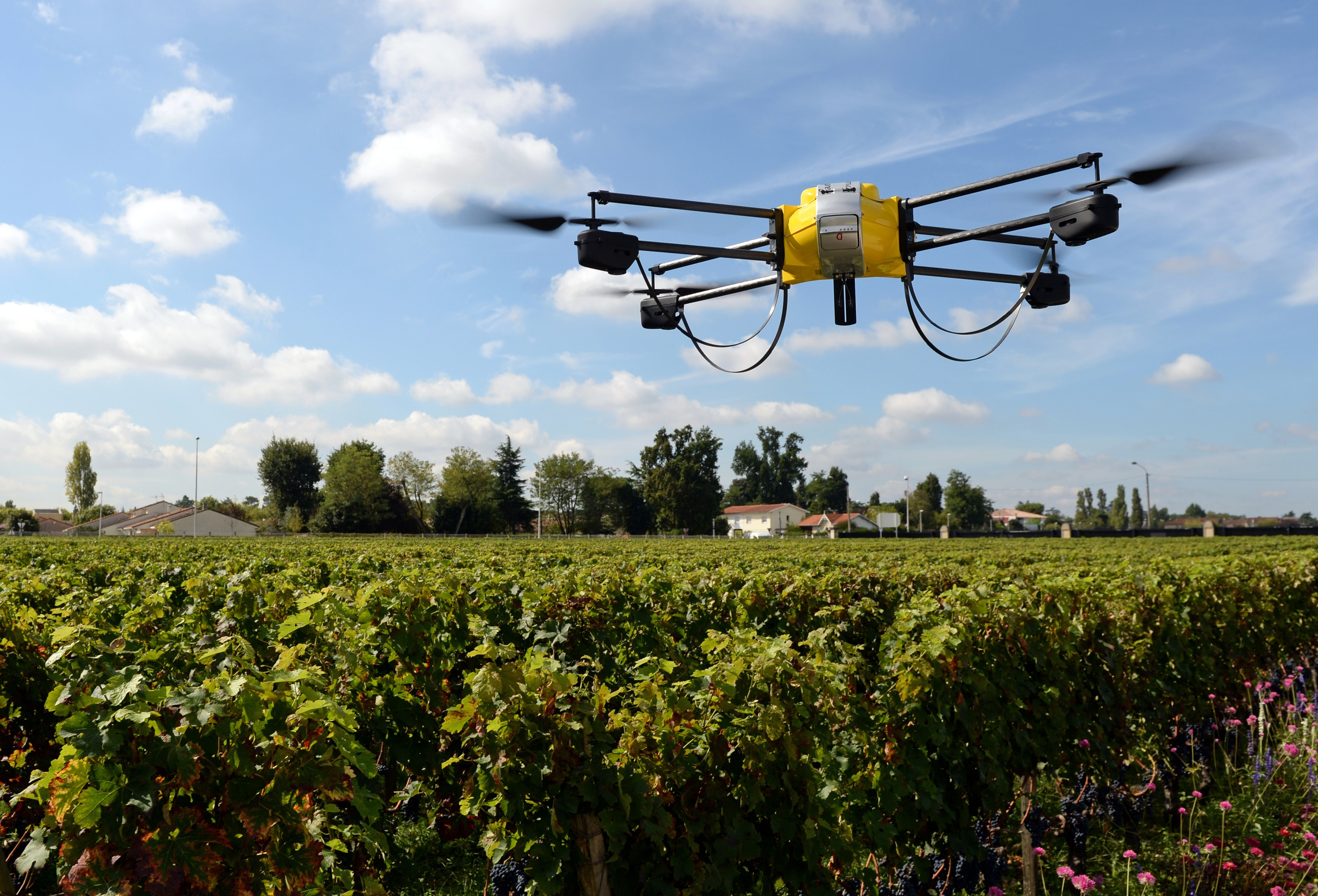 Drones for Agriculture. Picture Courtesy: USN News