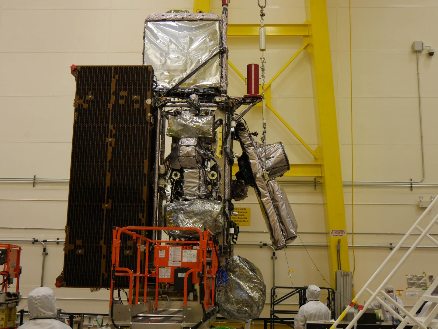 GOES-S undergoing testing
