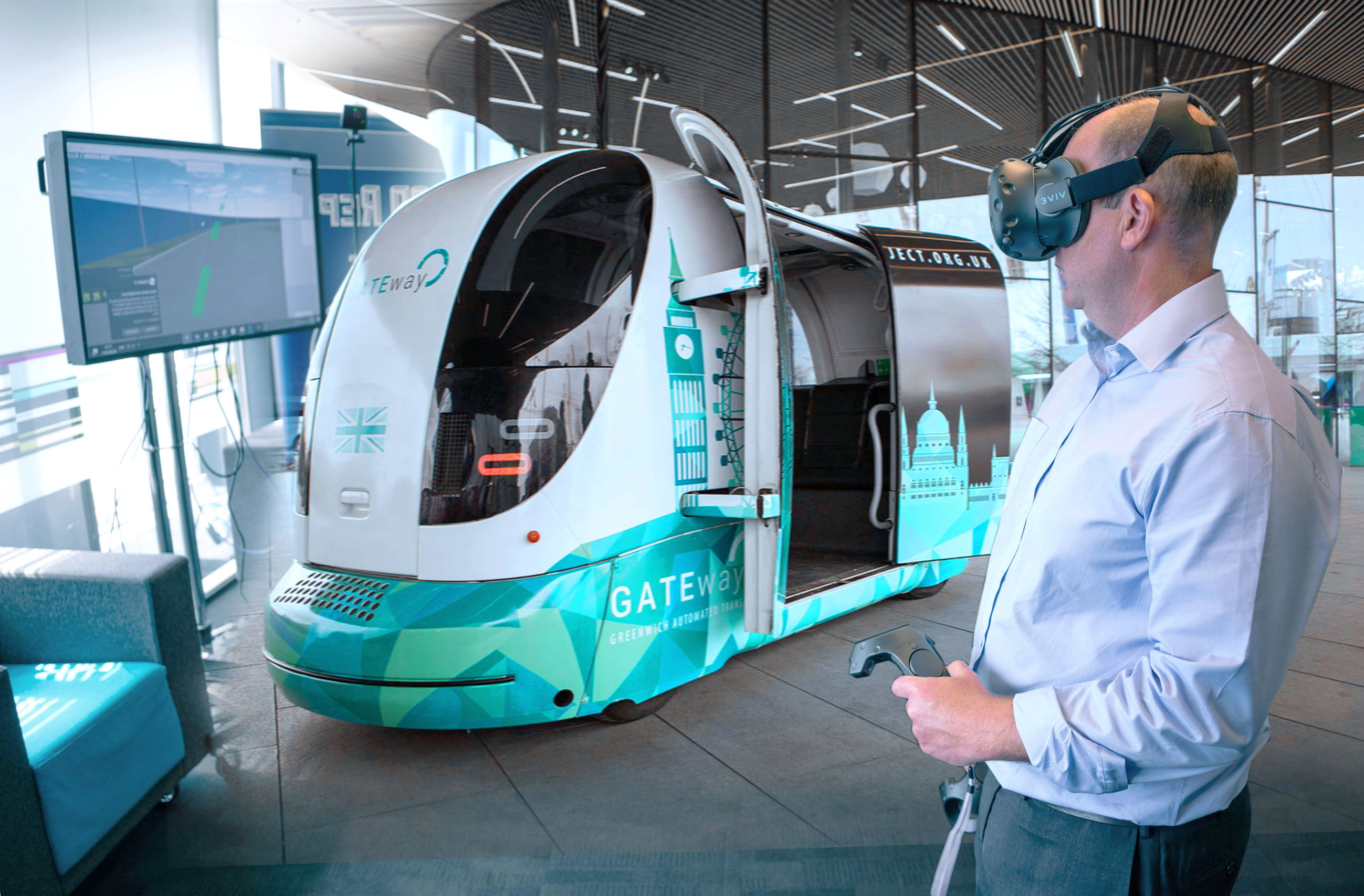 3D Virtual Reality visualizations