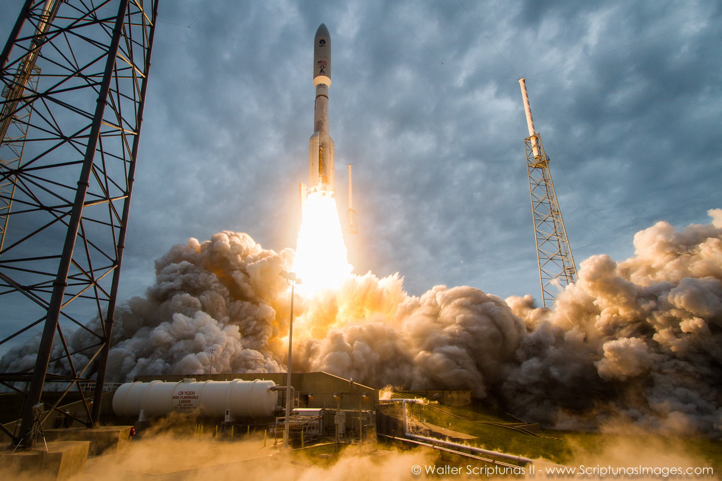 NASA launches satellite to help astronauts talk to Earth