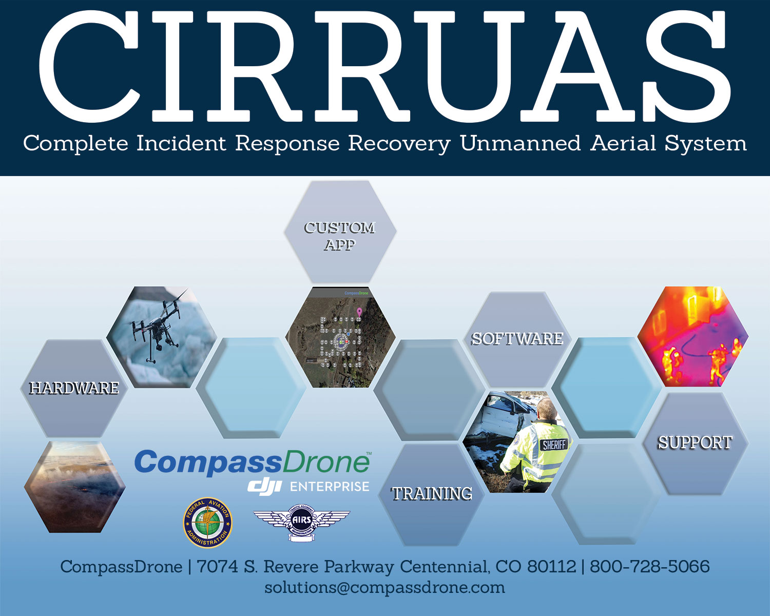 CompassDrone to launch CIRRUAS