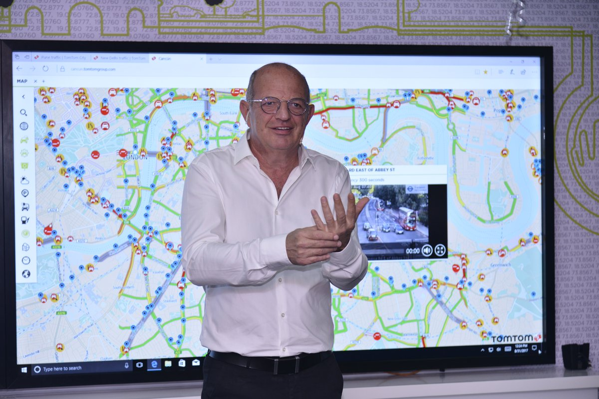 TomTom inaugurated its latest Traffic Centre in India