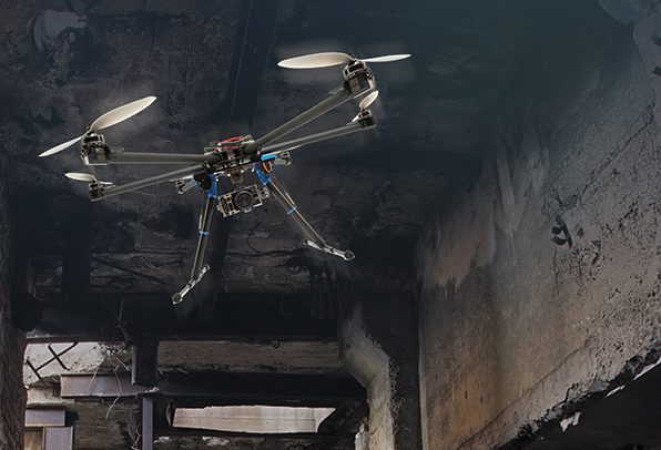 DARPA develops vision-aided UAVs