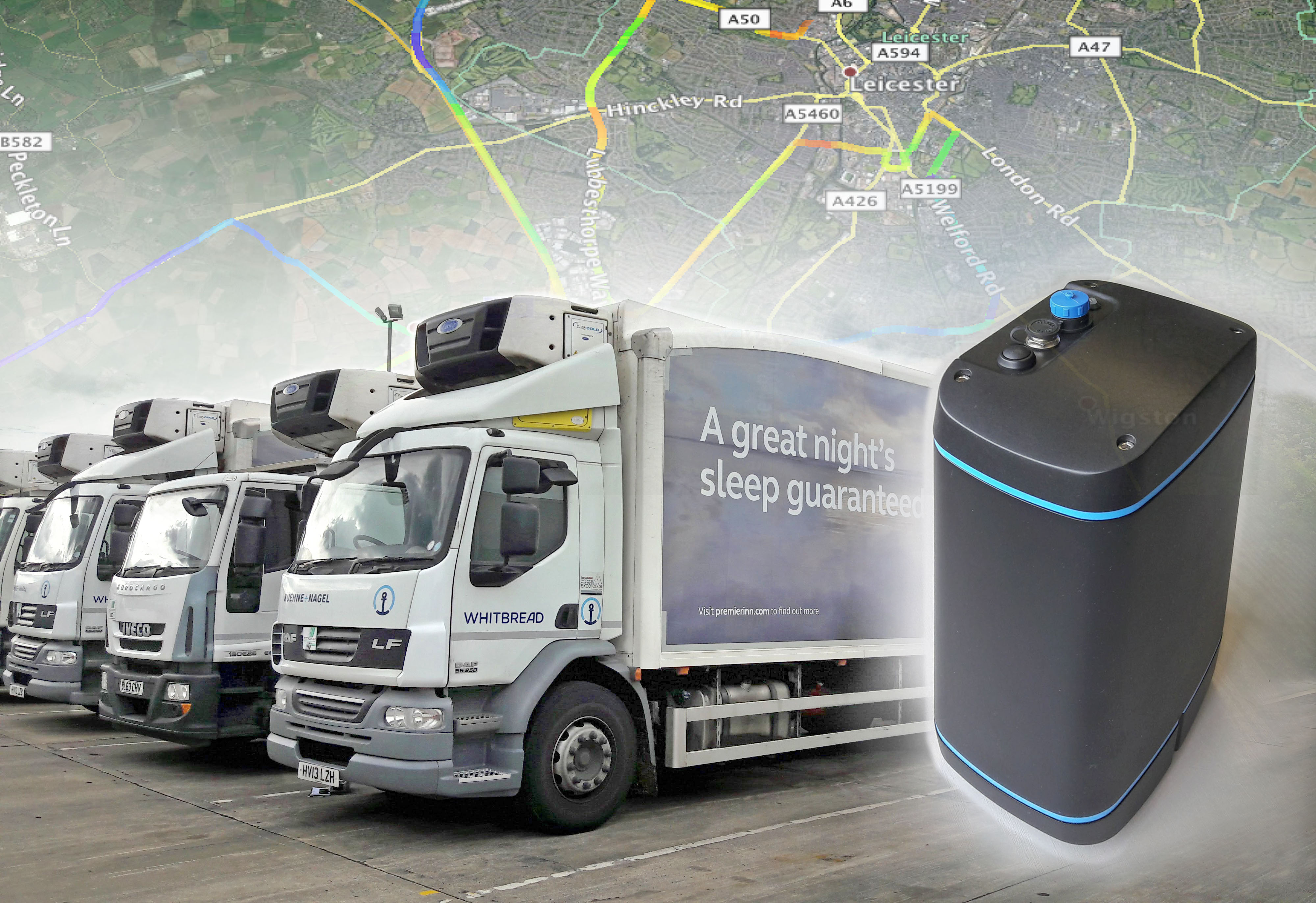 EarthSense Systems equips commercial delivery vehicles with air pollution sensors