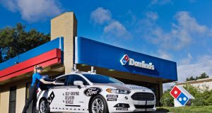 Ford's self-driving cars for Domino's pizza delivery