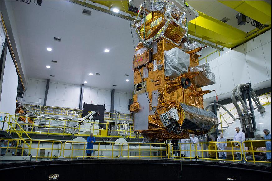Airbus completes MetOp-C platform