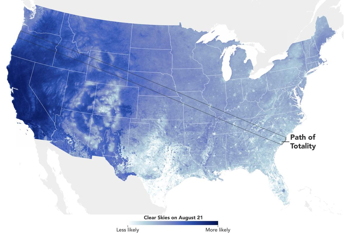 maps to aid great view of solar eclipse in the US