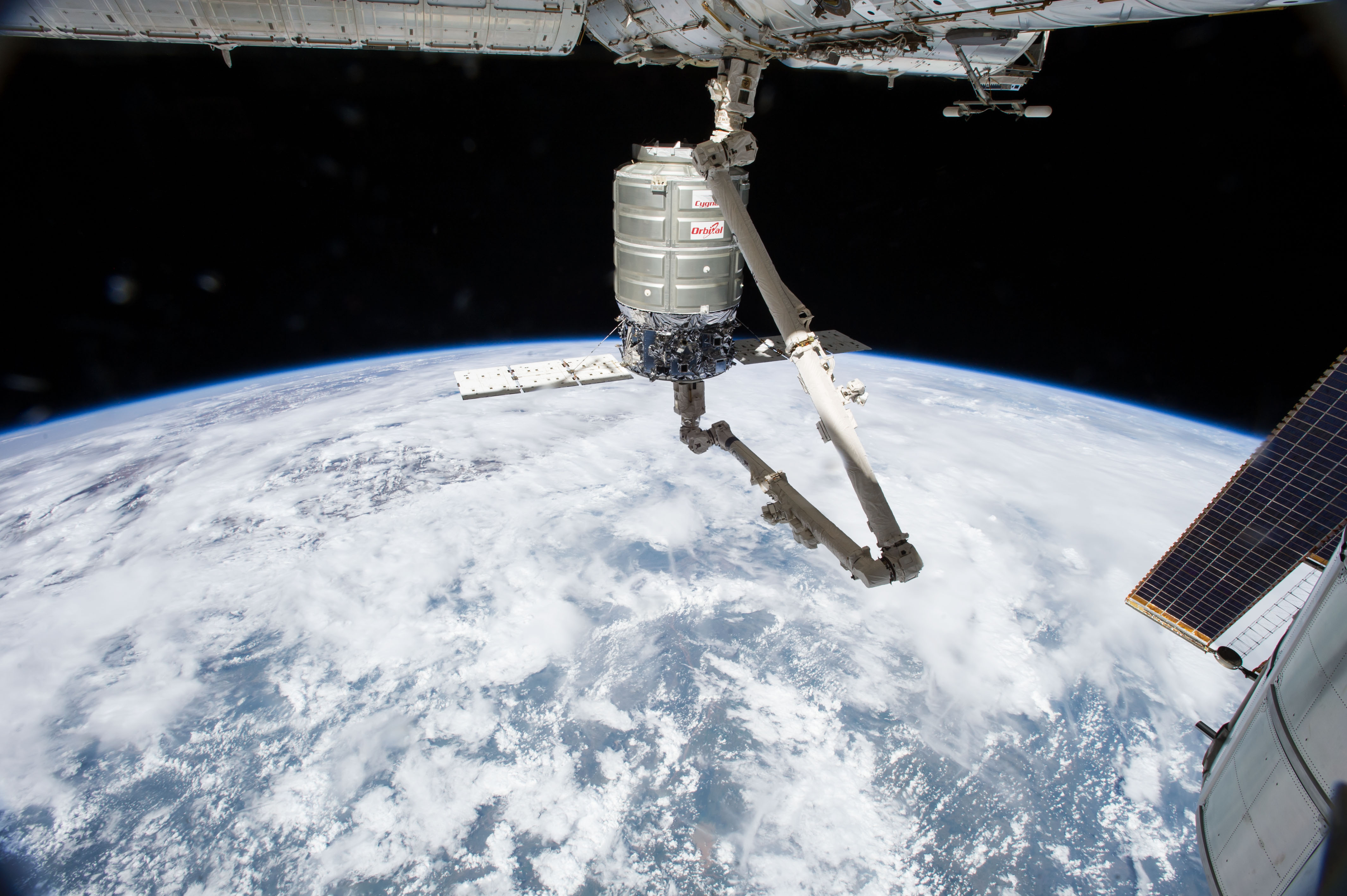 ISS resupply mission