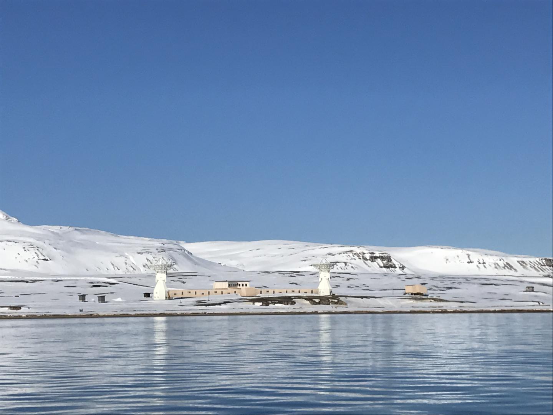 Arctic laser-ranging station