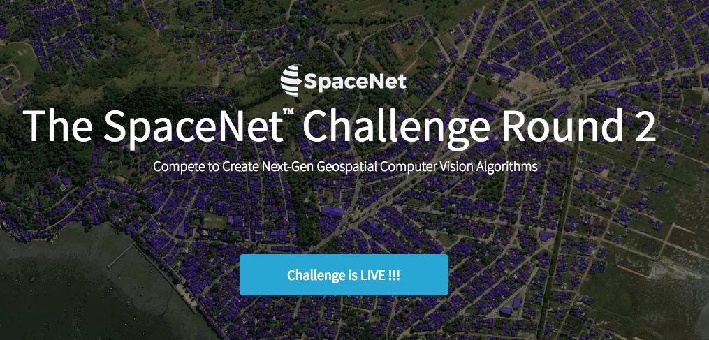 SpaceNet Challenge Round 2 results