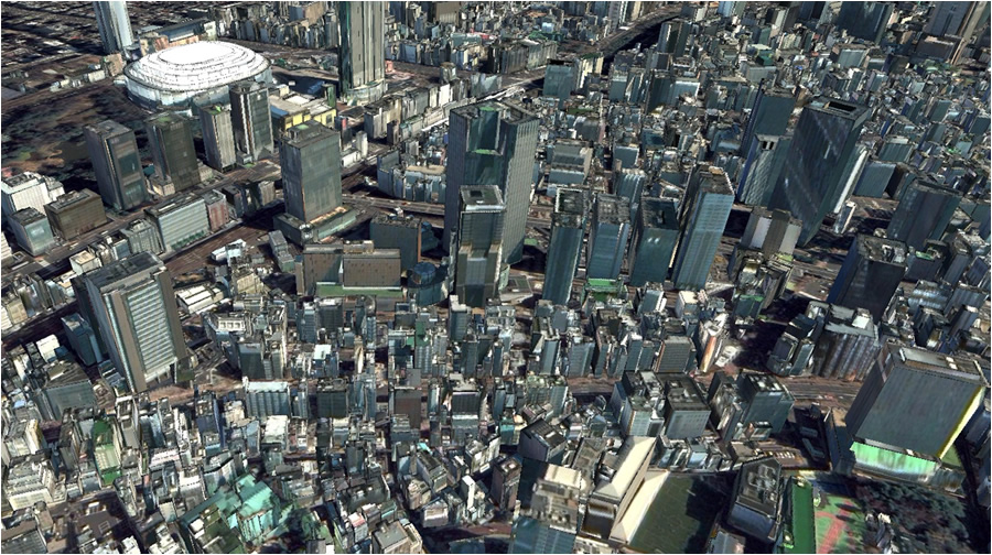DigitalGlobe, NTT DATA sign agreement to produce large-scale 3D vector building model datasets