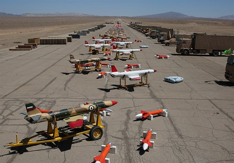 Iran unveils UAV base for drones