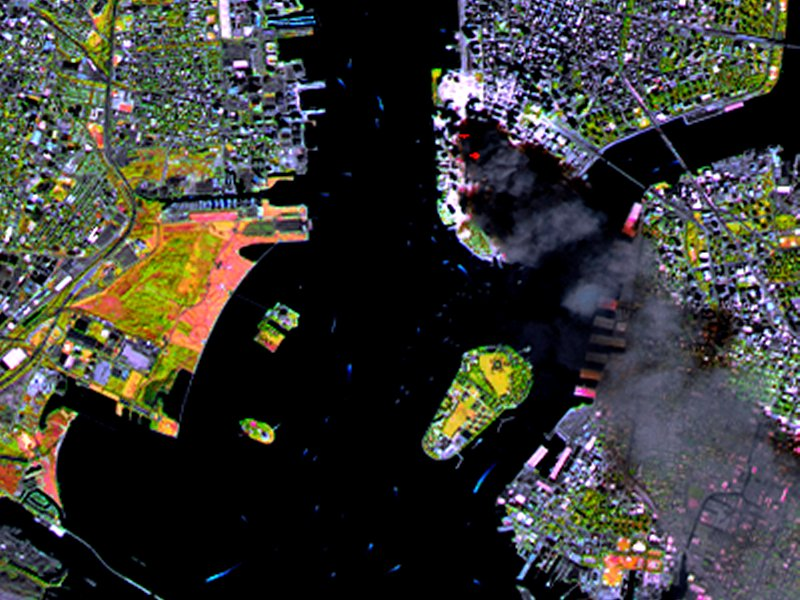 After Years NASA Reveals Terrorist Attacks Satellite Images - Real time satellite view