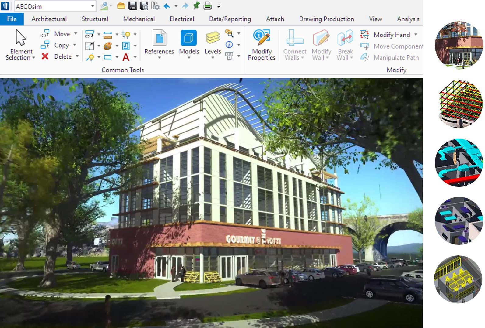 Bentley System releases AECOsim Building Designer CONNECT Edition