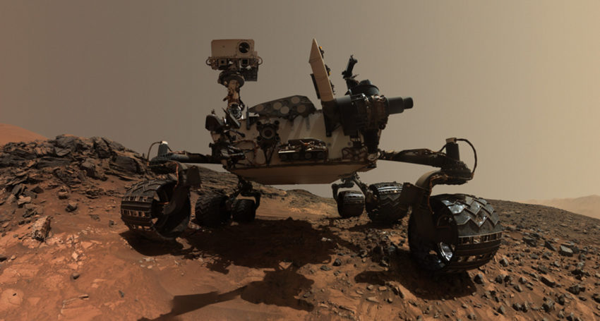 working model of nasa u2019s mars rover curiosity to be