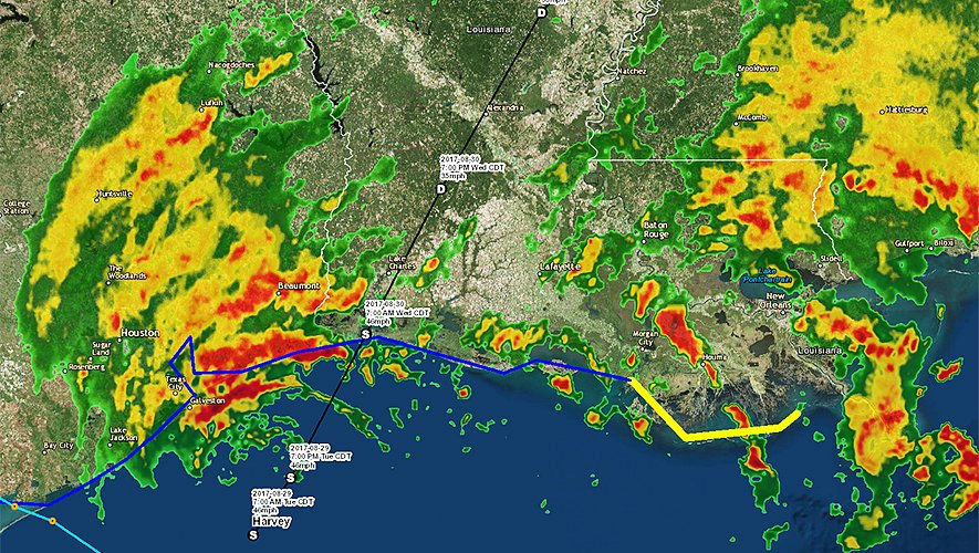 GISCorps Rallies Hurricane Harvey Response