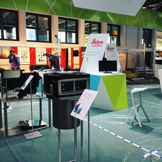 Leica Geosystems Construction system displayed at INTERGEO 2017