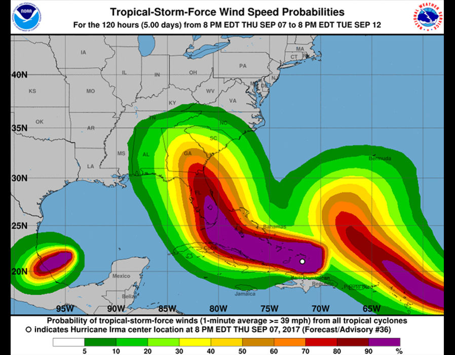 Noaa Maps Can Save You From Hurricane Irma S Fury