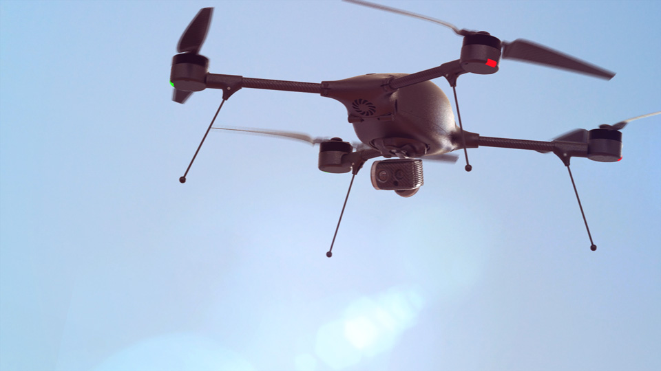 Lockheed Martin unveils a new small UAS