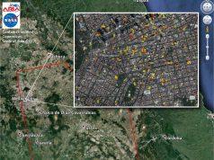 Mexico earthquake's damage map
