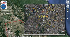 Mexico earthquake's damage map