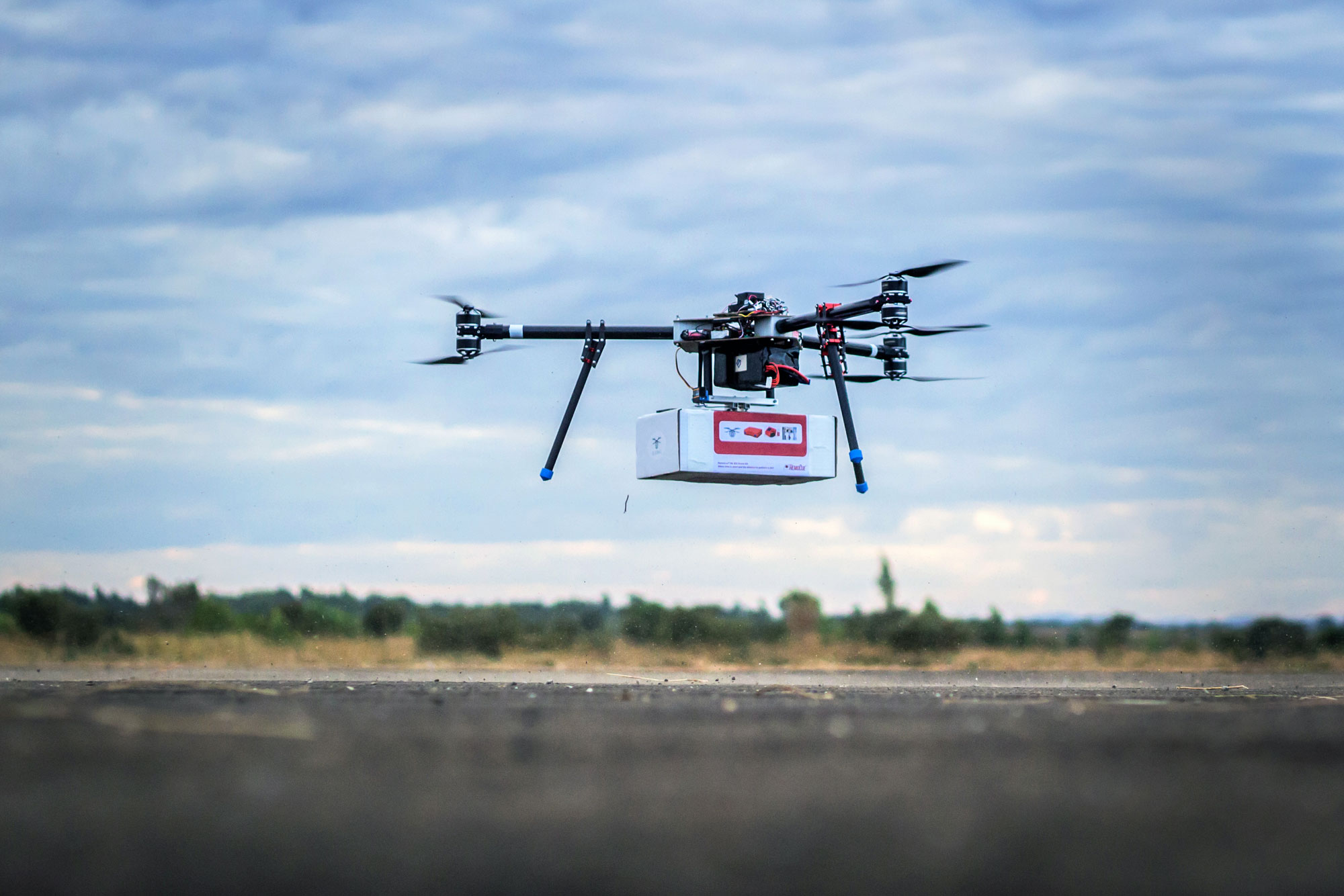 Drones for Humanitarian Work