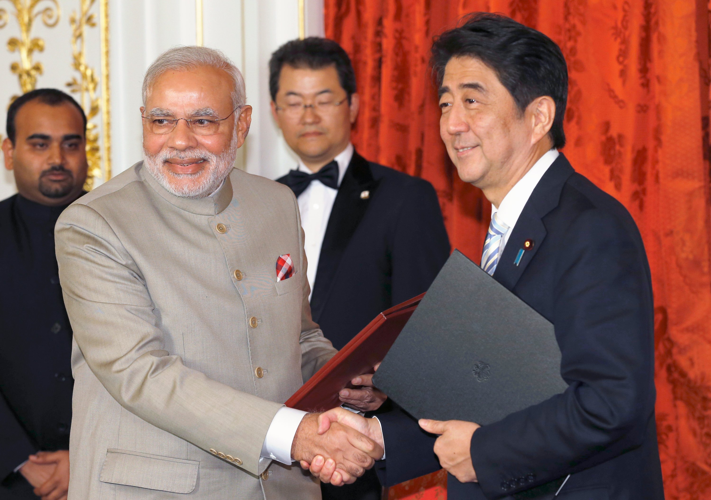 India, Japan sign ties for greater cooperation