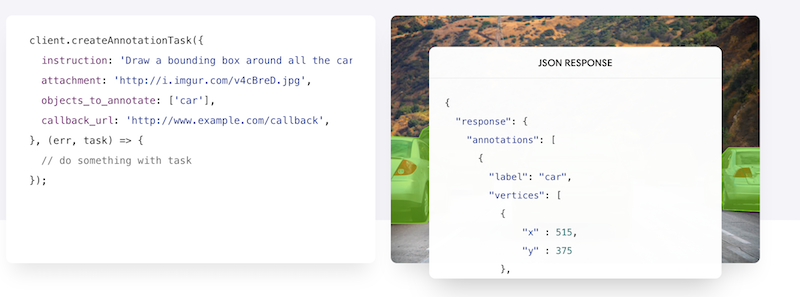 REST API for impeccable training data of Self driving cars - Scale Inc.