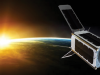 UNSW-EC0 cubesat in Earth's orbit.