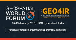 Geospatial World Forum 2018 - AI, IoT, BigData, Analytics, Geospatial, Virtual Reality, Augmented Reality, AI conference