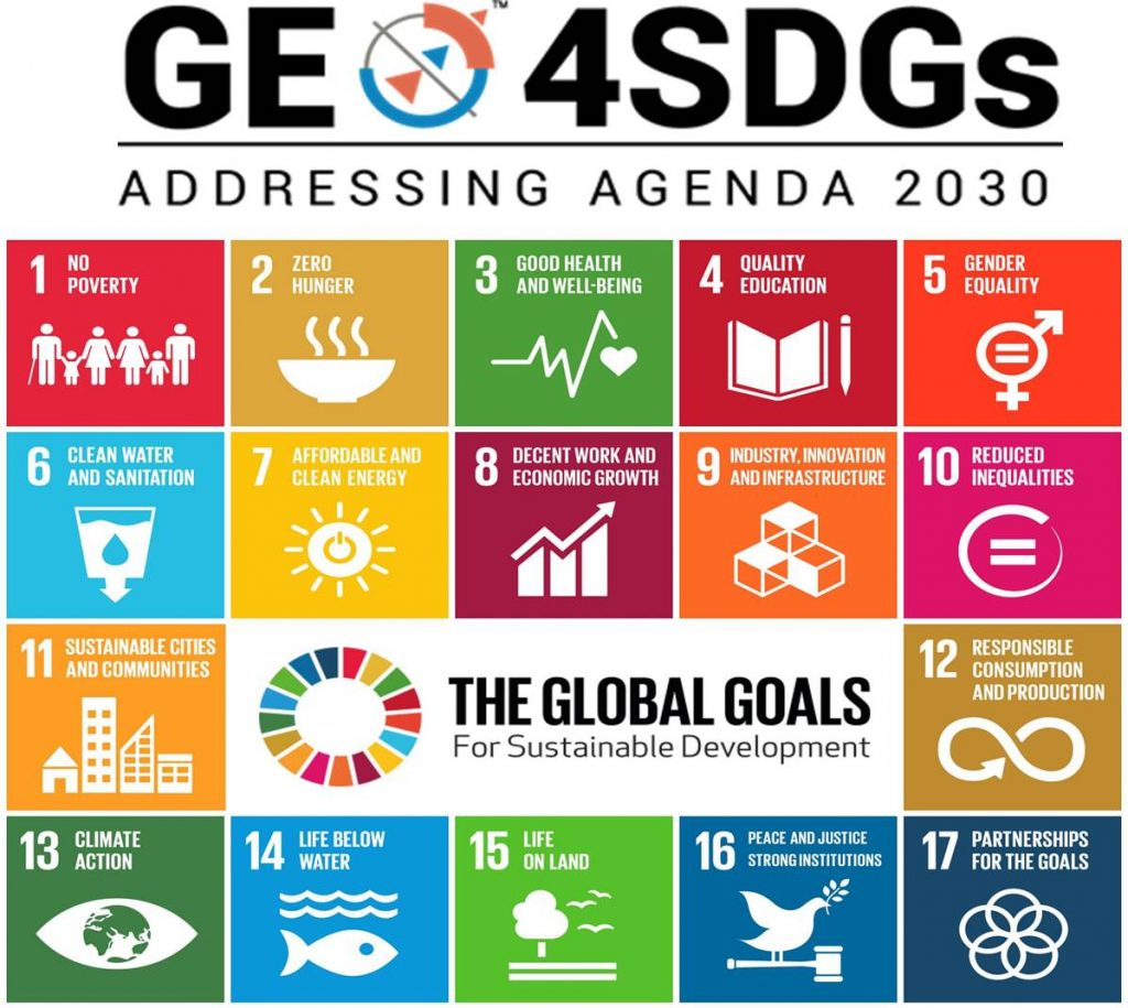 geo4SDGs or geospaial for SDGs or satellite data for SGDs